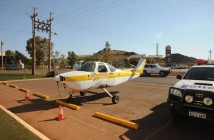 Newman man charged after taxiing his plane down the main street