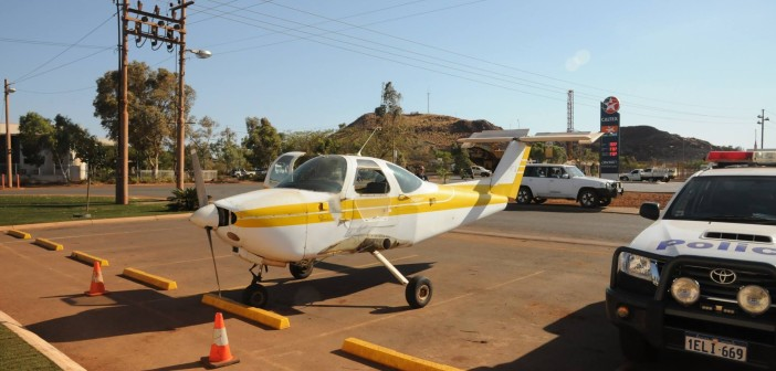 Man charged for taxiing wingless plane to the pub