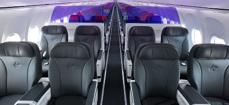 Virgin Australia Business Class Seats