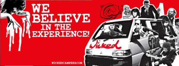 Wicked Campers We Believe in the Experience