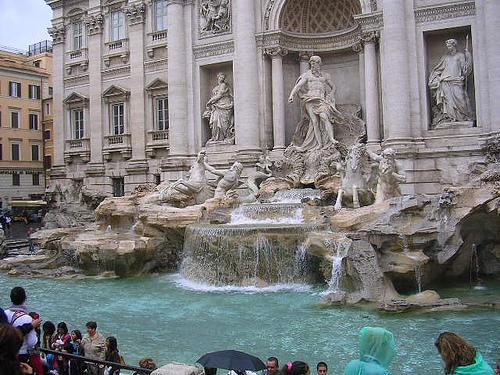 The Trevi Fountain