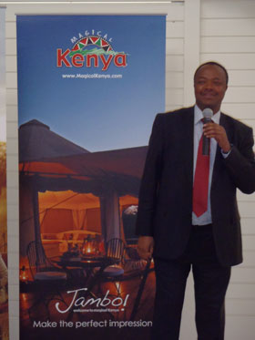 High Commissioner of Kenya - Stephen K Tarus