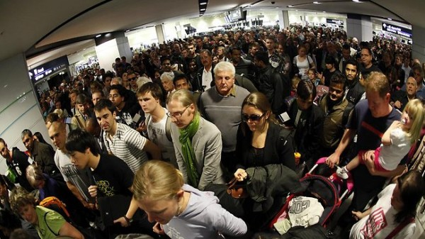 longer queues at Australian airports expected starting September