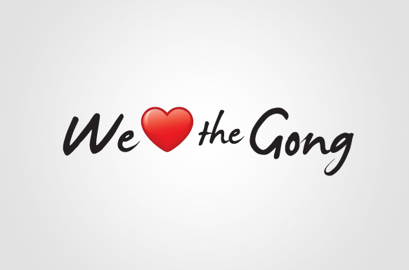 We love the Gong