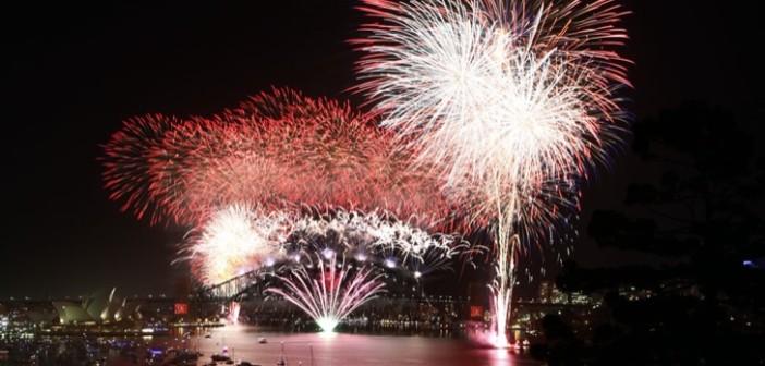 Sydney Harbour fireworks show