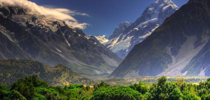 New Zealand's stunning landscape