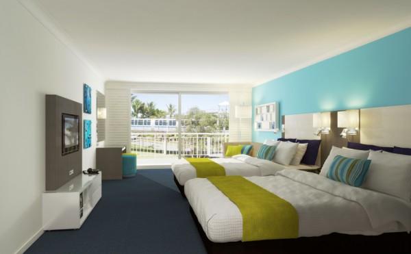 Refurbished deluxe rooms