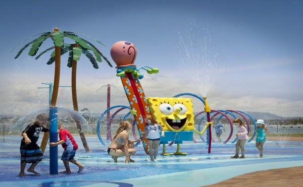 Nickelodeon 'SpongeBob SplashBash' aquatic playground