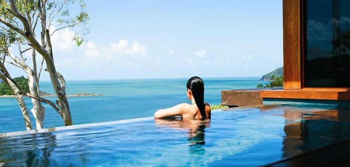 Qualia resort on Hamilton Island