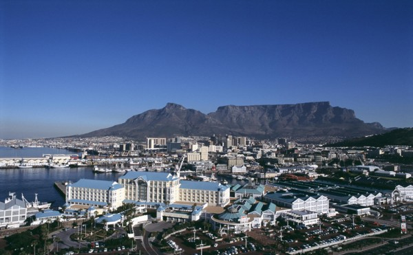 A view of the Table Mountain