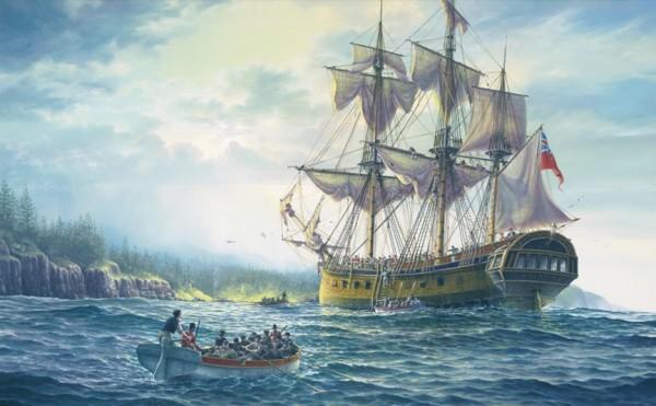 The HMS Sirius