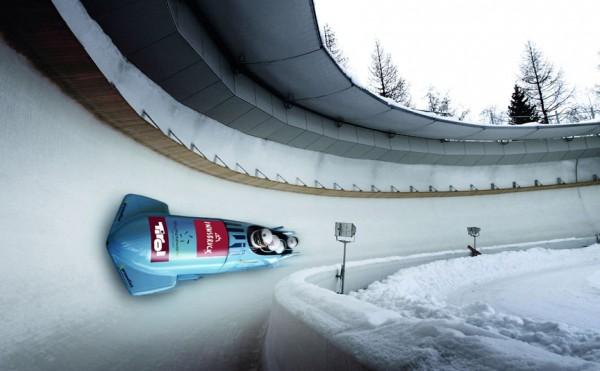 Bobsleigh run at Olympia SkiWorld Innsbruck