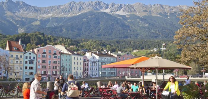 Innsbruck's Skyline