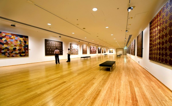The Plaza Gallery inside BCEC