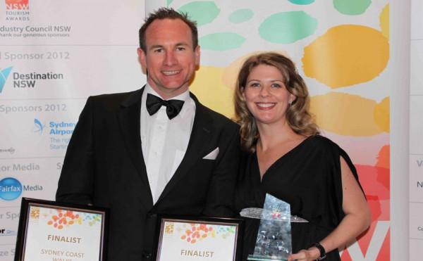 Ian and Tara Wells, owners of Sydney Coast Walks