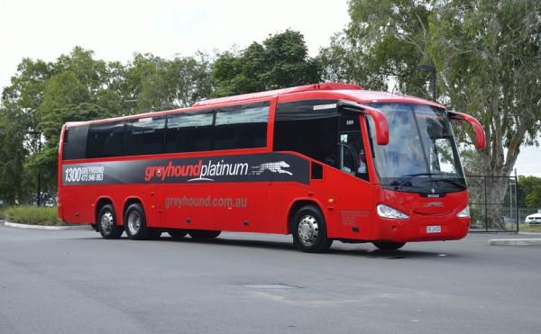 A Greyhound Australia Platinum Coach