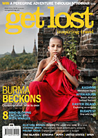 a cover of the get lost magazine
