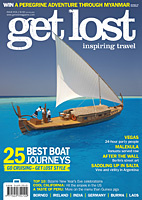 get lost issue no.34, featuring the world's 25 best boat journeys