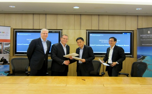 IHG Inks the deal with LC Dev