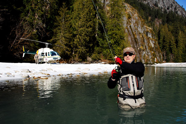 Gold River is an angler's paradise
