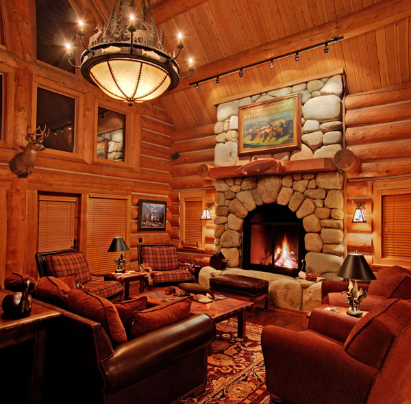 An inside look of the Lodge at Gold River