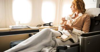 Five Star rated Lufthansa First Class