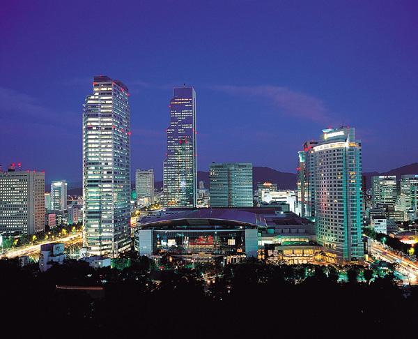 COEX Seoul at night