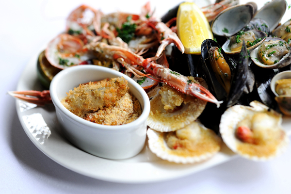 The best of fresh British seafood