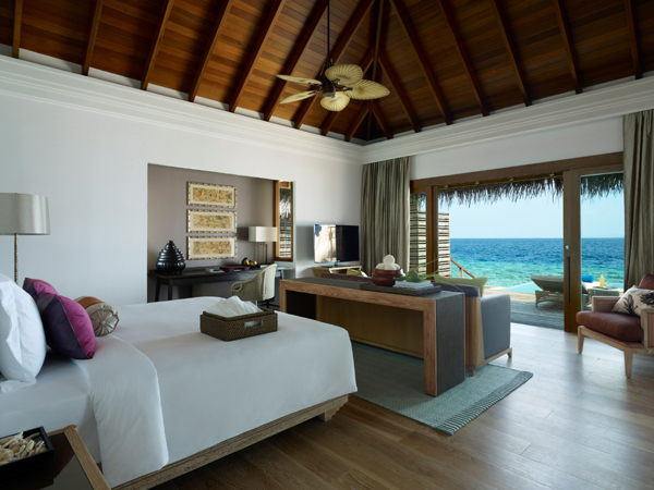 Accomodaion at Dusit Thani Maldives