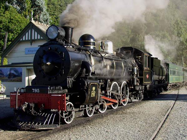 TranzAlpine rail journey