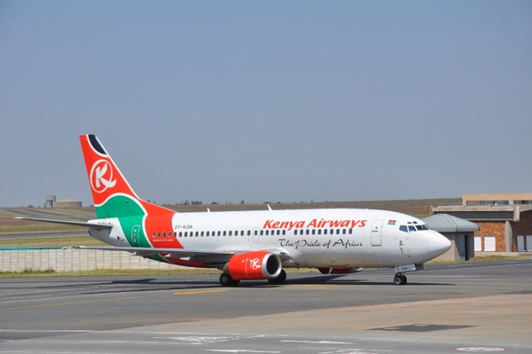 Kenya Airways Starts Daily Flights From Nairobi To Guangzhou Via Bangkok