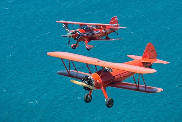 Southern Biplane Adventures' Airshow team