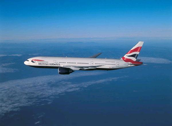 A BA Flight