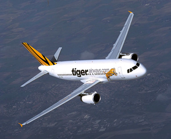 A Tiger Airways Flight