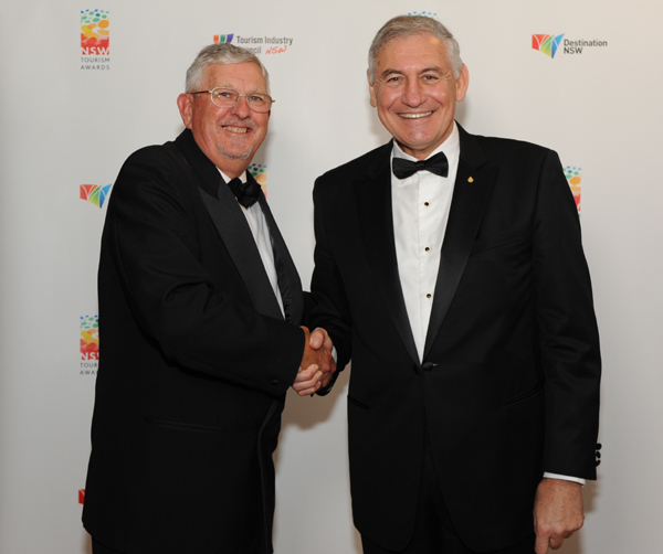 Ken Corbett, Tourism Industry Council NSW and NSW Minister for Tourism and Major Events, George Souris