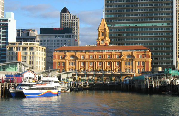 Auckland's Historic Ferry Building