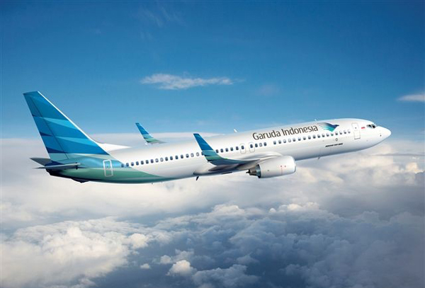 Garuda Indonesia, the airline of Indonesia