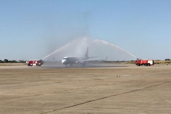 Kenya Airways celebrates the launch of the new Livingstone route in ZambiaKenya Airways celebrates the launch of the new Livingstone route in Zambia