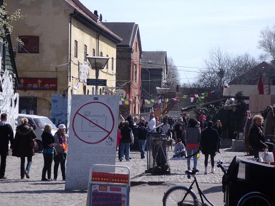Pusher Street - Christiania-Copenhagen