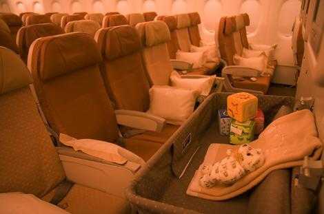 Economy Class on Singapore Airlines A380.