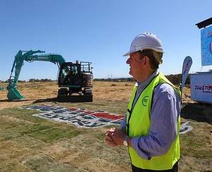 Wet'n'Wild Sydney - Construction underway