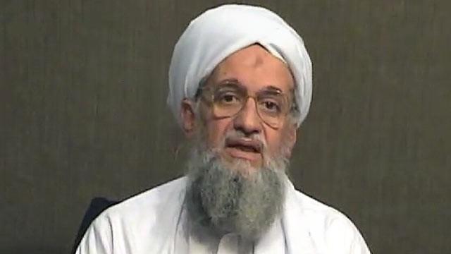 Ayman al-Zawahiri, leader of al-Qaeda