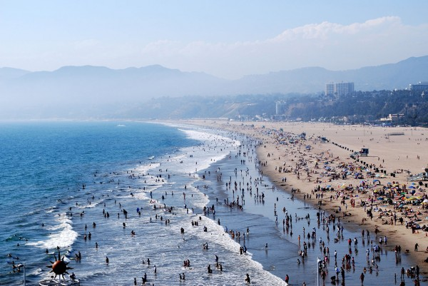 Known for its beautiful pier and endless beach, Santa Monica is the ultimate summer hangout destination.