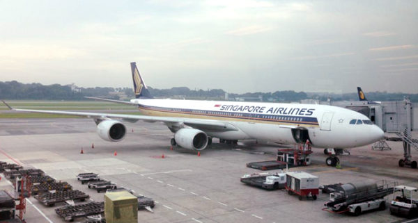 Gas-guzzling Singapore Airbus A340-500