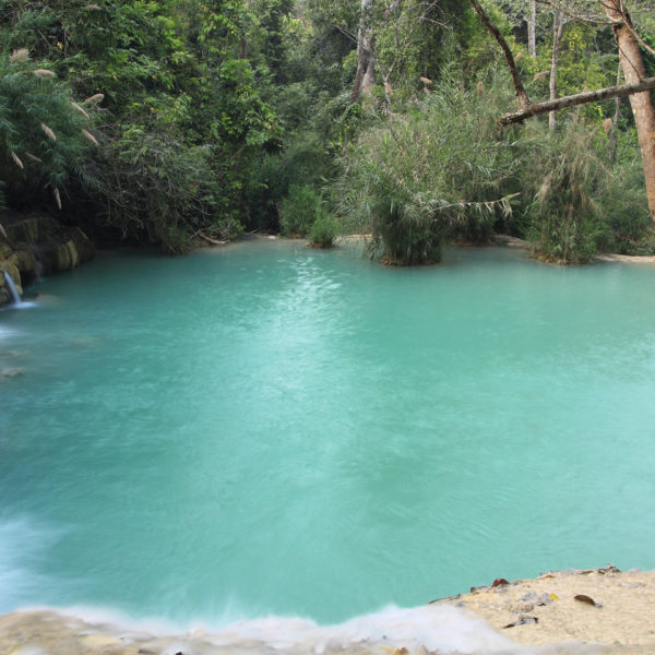 Tat Kuang Si Waterfall, Luang Prabang, Laos