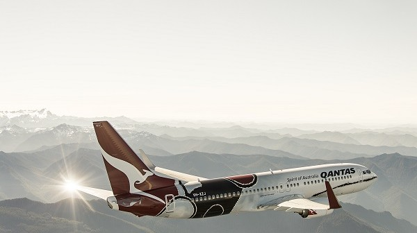Qantas' Celebrates the Work of Indigenous Painter Paddy Bedford With its Newest Aircraft