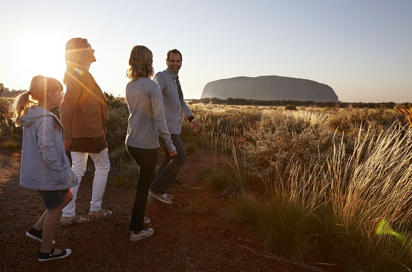 Tailor-made activities for children at the Ayers Rock Resort