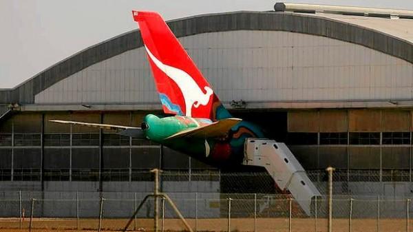 Qantas airline's Avalon heavy maintenance base