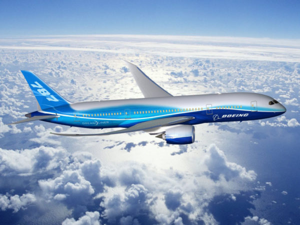 The Boeing 787 Dreamliner will replace the ailing Boeing 747