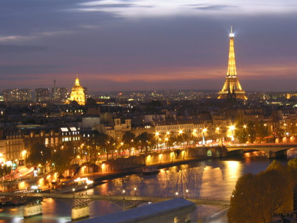 Paris, France - the city of lights and the most romantic city in the world